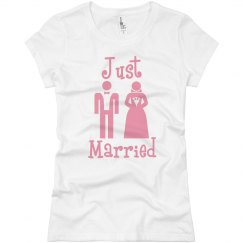Just Married Pink