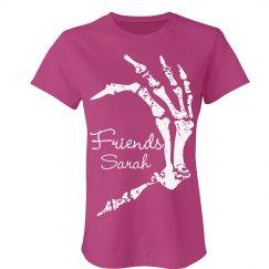 BFF Skeleton Heart Shirt