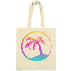 Palm Tree Beach Bags