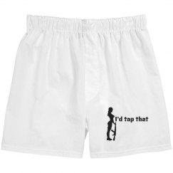 I'd Tap That Men's Boxers