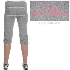 Pink Military Sweatpants