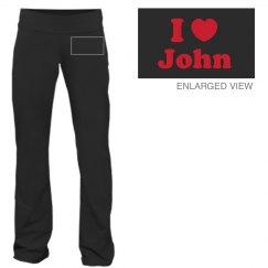 I Heart PJ Sweatpants
