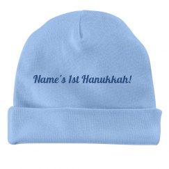 Custom First Hanukkah Hat