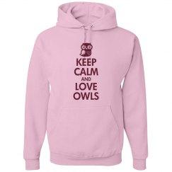 Hooded Keep Calm Owl