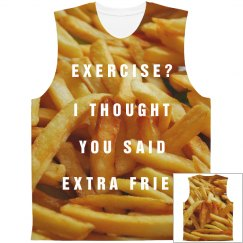 Funny Extra Fries All Over Print