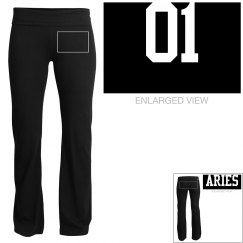 Aries Sporty Zodiac Yoga Pants