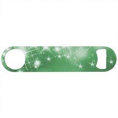 bright green star