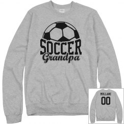 Soccer Grandpa Fan