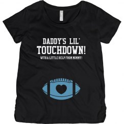 Touchdown Pregnant Football Mom Shirts