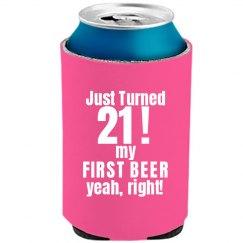 Just Turned 21 Birthday