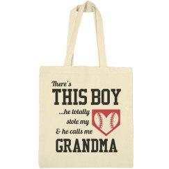 Baseball Boy Stole Grandma's Heart