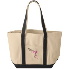 """Shear Love"" Tote Bag"
