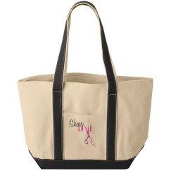 """Shear Love"" Tote Bag"