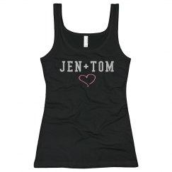 Jen + Tom Rhinestones
