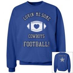 Cowboys Sweatshirt Silver