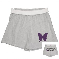 Fibromyalgia Warrior Soft Shorts