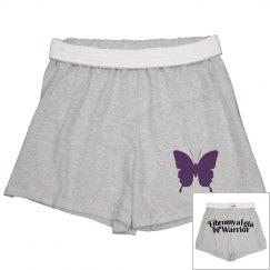 Fibromyalgia Warrior Soft Shorts