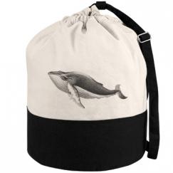Whale Beach Bag