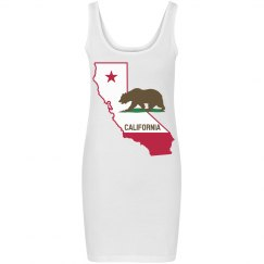 California Dress (White)
