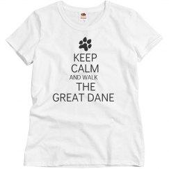 Walk the great dane