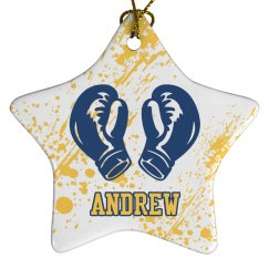 Boxing Christmas Ornament