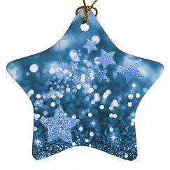 Blue Bokeh & Stars