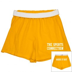Work Out Shorts w/Back