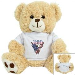 Patriotic American Eagle Tiger