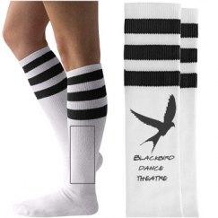 blackbird sock black
