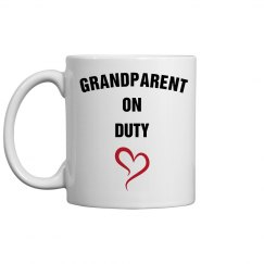 Grandparent on duty
