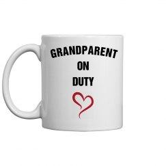 Grandparent on duty