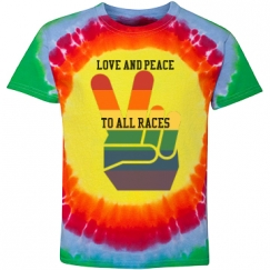 LOVE AND PEACE TO ALL RACES