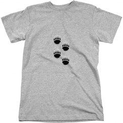 Black Bear Paw Prints