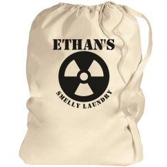 Ethan's smelly laundry
