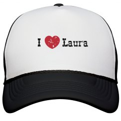 I Heart Trucker Hat