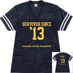 Cancer Survivor Jersey
