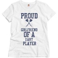 Proud girlfriend of a Dart Player