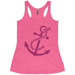 Anchor Razor Tank Pink