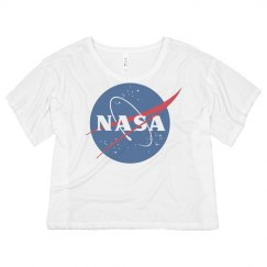 NASA Vintage Science Crop Top