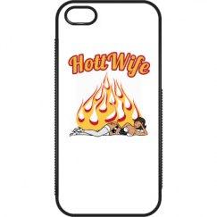 Hott Wife iPhone 5 / 5S Plastic & Rubber Case