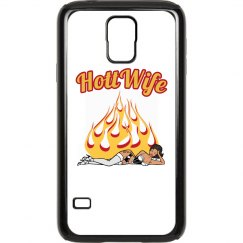 Hott Wife Samsung Galaxy S 5 Plastic & Rubber Case