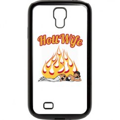 Hott Wife Samsung Galaxy S 4 Plastic & Rubber Case