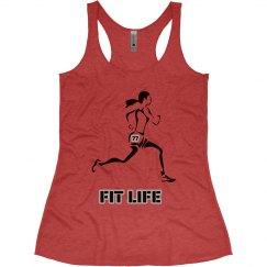 Run Fit Life - Performance Tee