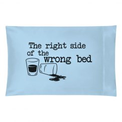 Right side, wrong bed