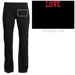 love yoga pants junior