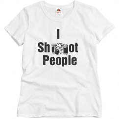 shoot photography tee