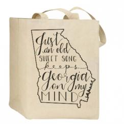 Georgia On My Mind Tote