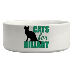 Cats for Hillary Clinton