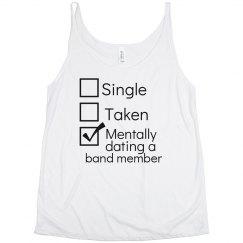 Mentally dating flowy tank
