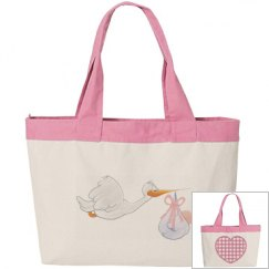 Baby Stork Tote